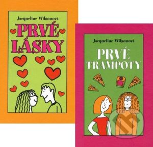 Jacqueline Wilson: Prvé lásky + Prvé trampoty (kolekcia dvoch titulov) - Jacqueline Wilson,  Jacqueline Wilsonová,  Jacqueline Wilsonová knihy,  knihy pre deti, knihy pre dievcata, knihy pre deti od 10 rokov, najlepšie knihy pre deti, knihy pre mladez, knihy pre deti od 8 rokov, knihy pre dievčatá od 10 rokov, detske knihy vypredaj, knihy pre dievčatá od 8 rokov, knihy pre deti od 9 rokov, kniha pre 9 rocne dievcata, tipy na knihy pre deti, knihy pre 10 ročné deti, kniha pre dospievajúce dievčatá, knihy pre deti a mládež, kniha o dospievaní pre dievčatá, dobrodružné knihy pre mládež
