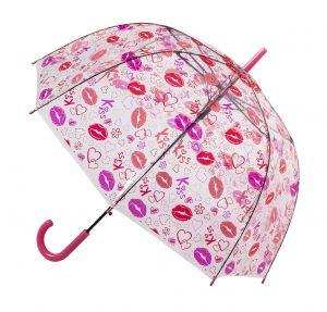 Blooming Brollies Dámsky priehľadný palicový dáždnik POES LIP - priesvitný dáždnik, skladací dáždnik, priesvitny dazdnik, detsky skladaci dazdnik, detský skladací dáždnik, skladaci dazdnik, dazdnik skladaci, dáždnik priesvitný, priehladny dazdnik, skladací dáždnik proti vetru, dáždniky skladacie, priesvitne dazdniky, dúhový dáždnik, palicovy dazdnik, zlty dazdnik, doppler dazdnik, malý skladací dáždnik, mini dazdnik, skladací dáždnik pre deti, priehľadný dáždnik, dáždniky odolné vetru, automaticky skladaci dazdnik, darcek pre tinedzerku, darček pre pubertiačku, darcek na vianoce pre 11 rocne dievca, vianočný darček pre 10 ročné dievča, darček na vianočný pre 10 ročné dievča, vianocny darcek pre dievca, darcek 10 rocne dievca, darčeky na vianoce pre 13 rocne dievca, tip na darček pre 10 ročné dievča, darček k narodenínam 10 r dievča, darček k narodeninám 11 r dievča, darček k vianociam 10 r dievča, darček k narodeninám 12 r dievča