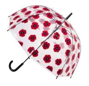Priesvitný dáždnik
